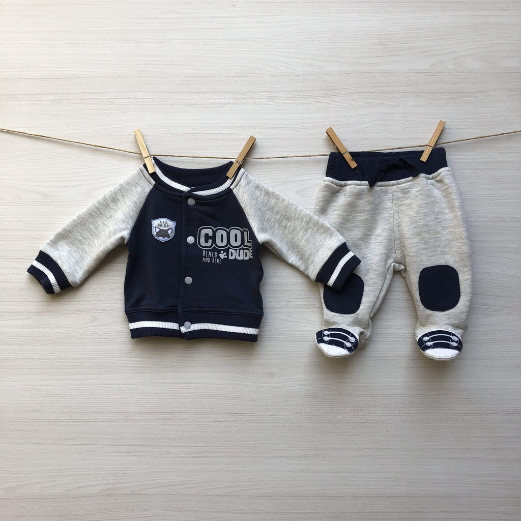 Black and Blue Conjuntos CONJUNTO COOL DUDE 0 A 3 MESES