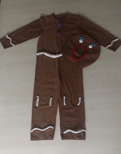 S/Marca Disfraces DISFRAZ GINGERBREAD MAN