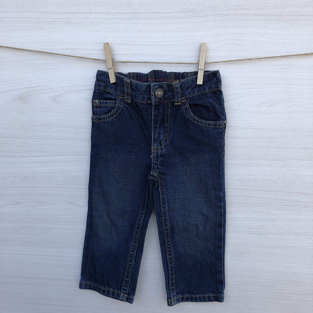 Carter's Jeans/Pantalones JEANS AZUL  CLASICO 12 MESES