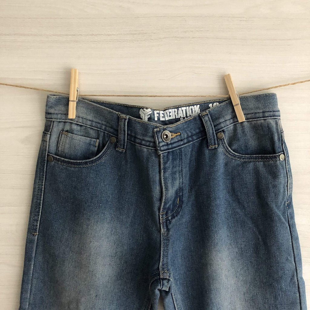 Federation Jeans/Pantalones JEANS AZUL RECTO T10