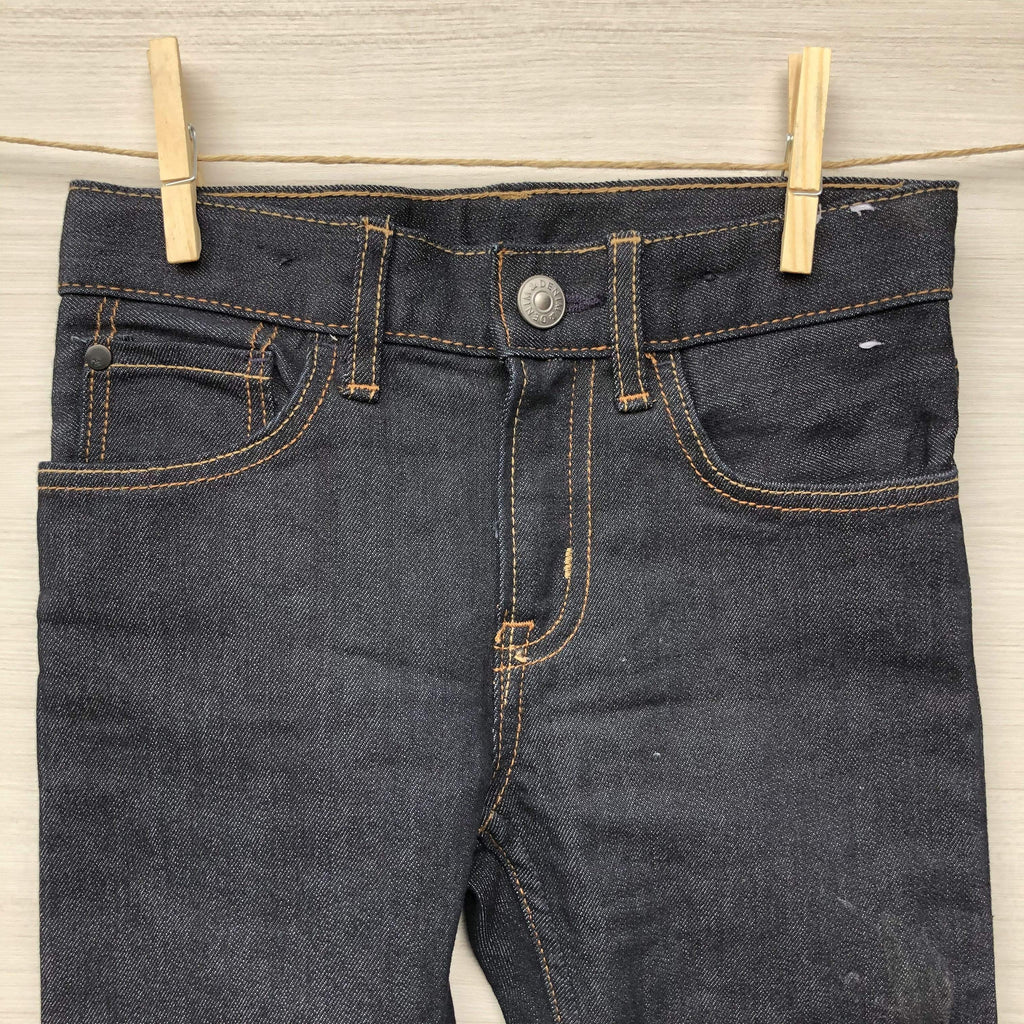 Jeanious Jeans/Pantalones JEANS AZULES CON BOTÓN 2 A 4 AÑOS