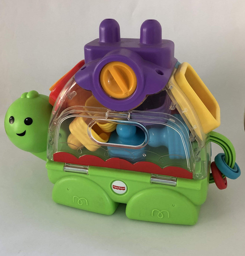 Fisher Price Juguetes TORTUGA DE BLOQUES APILABLES