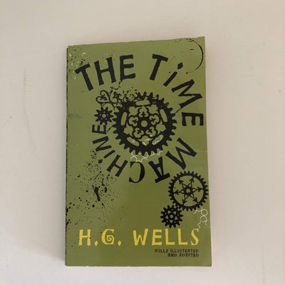 H. G. Wells LIBROS JUVENILES THE TIME MACHINE
