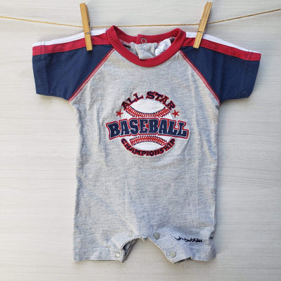 Baby Bubbles Ositos/Enteritos ENTERITO ALL STAR BASEBALL 0 MESES