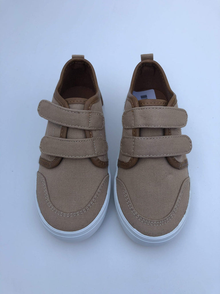 Old Navy Zapatillas Urbanas ZAPATOS CAFÉ DOBLE VELCRO N24