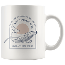 Load image into Gallery viewer, PERSONALISED Whale Mugs