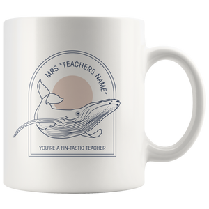 PERSONALISED Whale Mugs