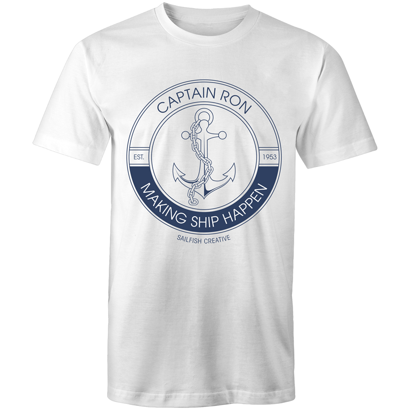 PERSONALISED Anchor - Mens T-Shirt