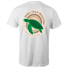 Load image into Gallery viewer, Shell Yeah Beaches - Mens T-Shirt