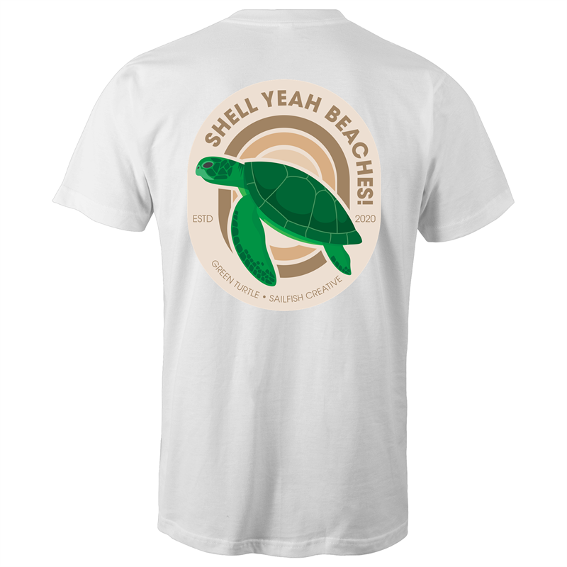 Shell Yeah Beaches - Mens T-Shirt