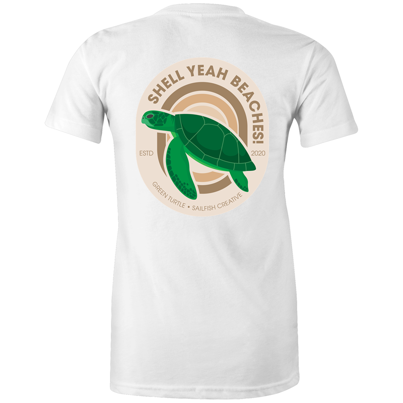 Shell Yeah Beaches - Women's T-Shirt