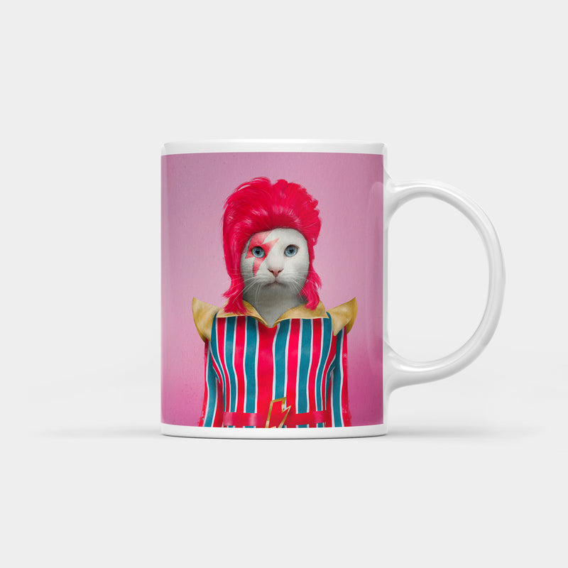 David Meowie Coffee Mug