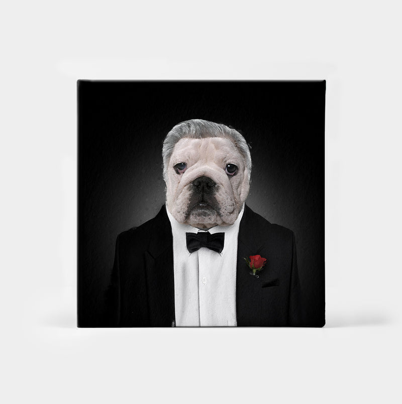 The Dogfather Custom Canvas