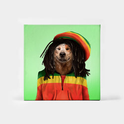 Dog Marley Custom Canvas