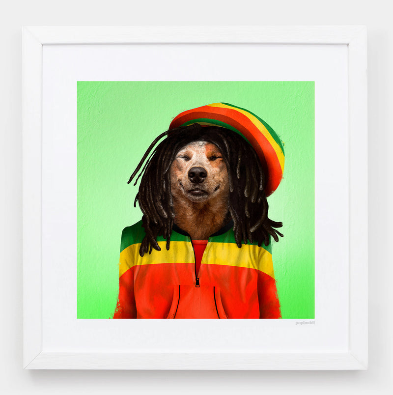 Dog Marley Art Print