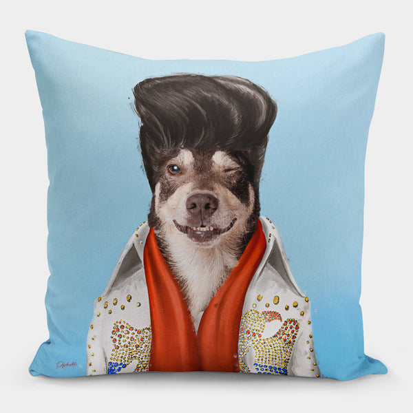 Elvis Pupsley Pillow