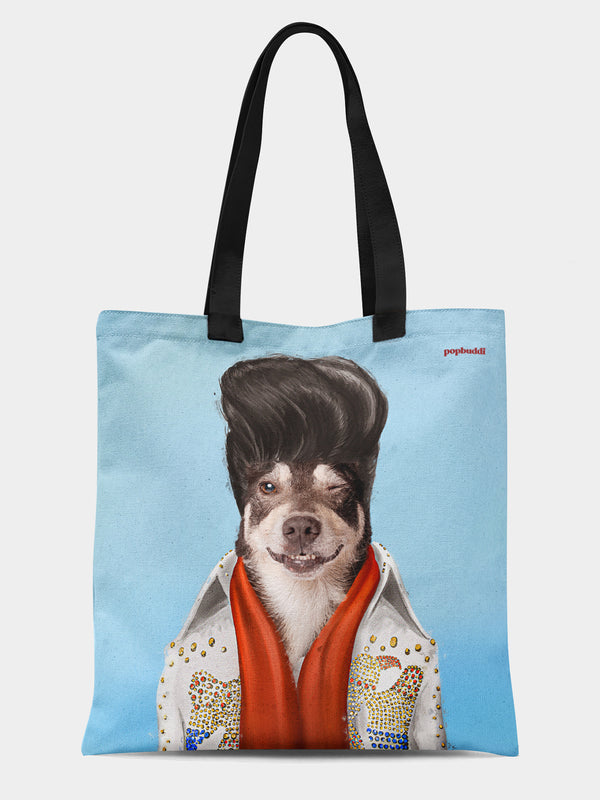 Elvis Pupsley Tote Bag