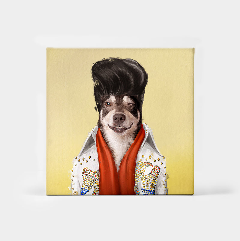 Elvis Pupsley Custom Canvas