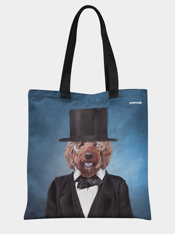 Pawbraham Lincoln Tote Bag