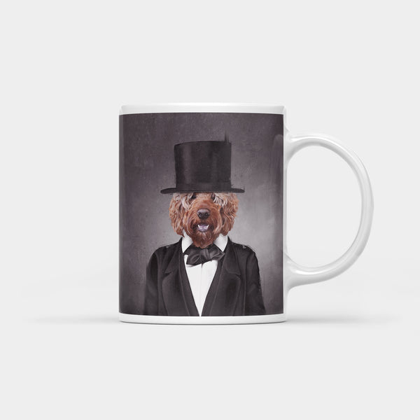 Pawbraham Lincoln Coffee Mug