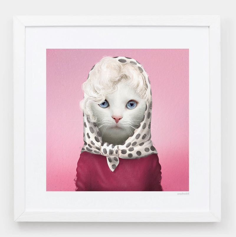 Marilyn Monroar Art Print