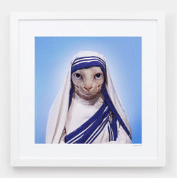 Mother Purresa Art Print