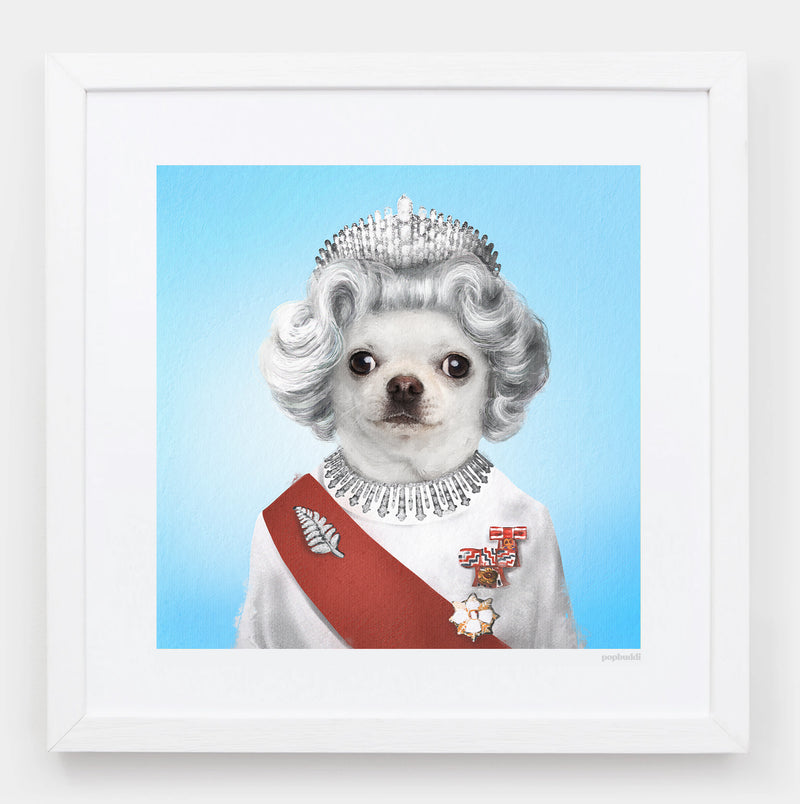 Queen Elisapet Art Print