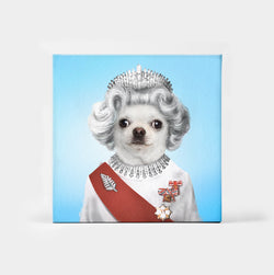 Queen Elizapet Custom Canvas