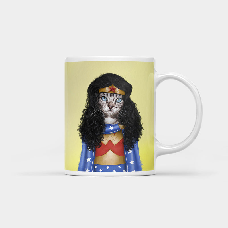 Meownder Woman Coffee Mug