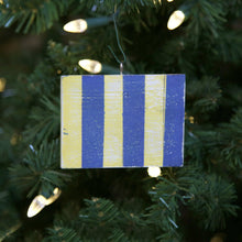 "Load image into Gallery viewer, ""G"" Flag Vintage Ornament - mysignalflags"