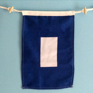 """P"" Nautical Signal Flag - mysignalflags"