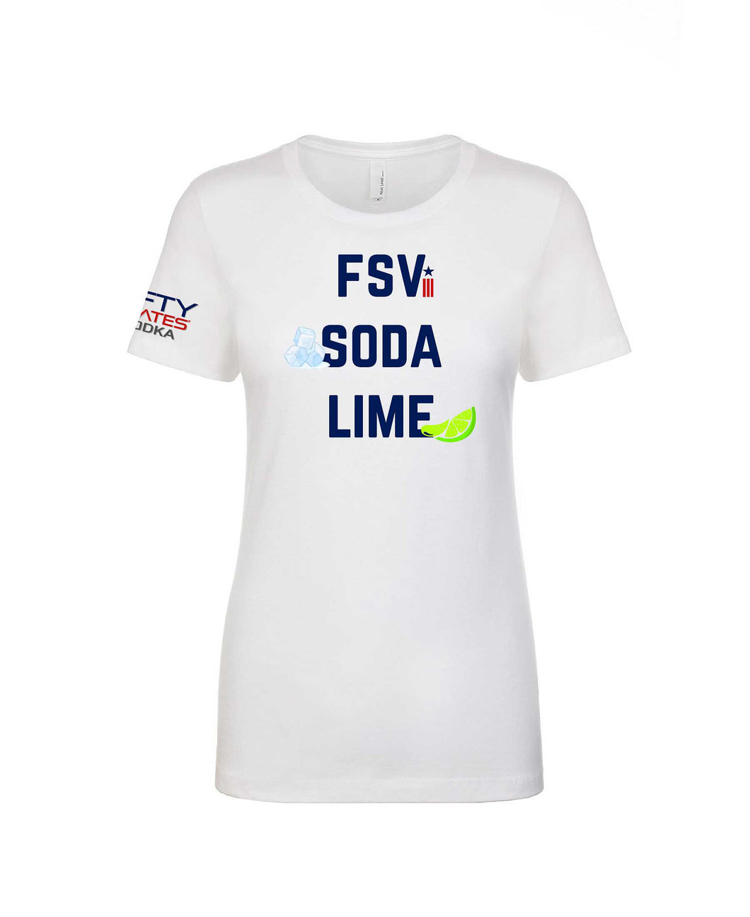 FSV Soda Lime Women's Crew Neck Tee