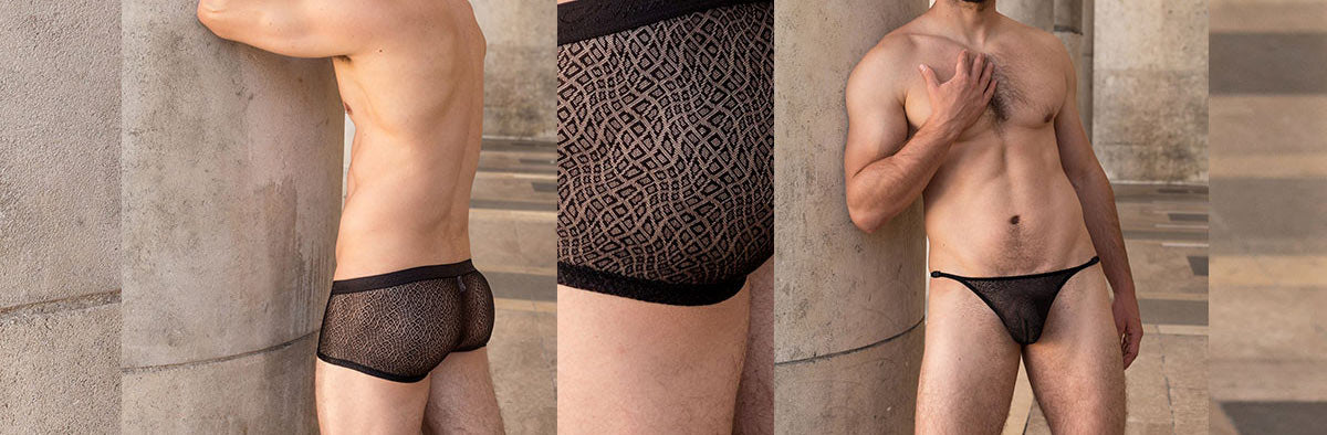 L'Homme Invisible is a French designer for luxury underwear, swimwear, loungewear and accessories for men. Since 1986.