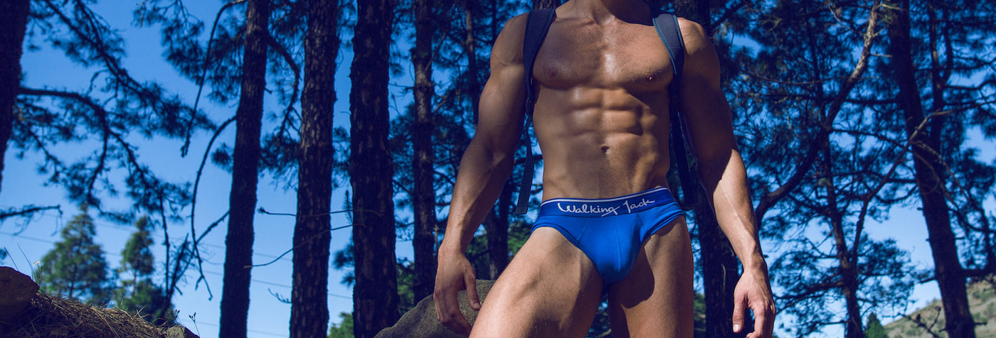Walking Jack. Underwear that goes the distance. The coolest men's underwear brand of Europe. Designed in Greece, made in Portugal