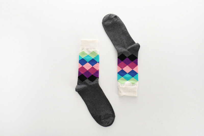 Pure cotton crew length men-women socks,inskinn112