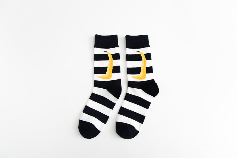 Pure cotton crew length men-women socks,inskinn136