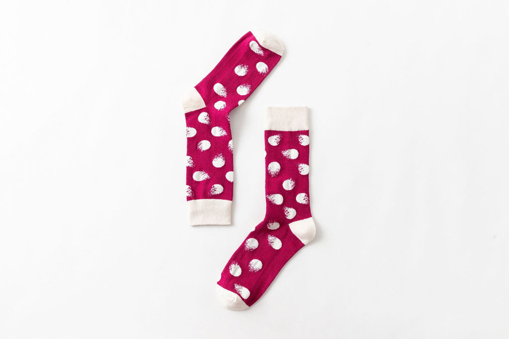 Pure cotton crew length men-women socks,inskinn164