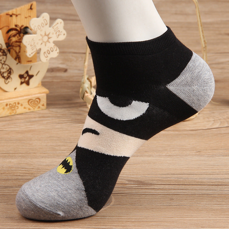 Pure cotton ankle length men-women socks,inskinn221