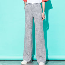 Load image into Gallery viewer, Linen Wide Leg Pants