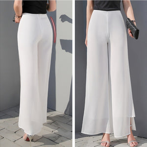 Wide Leg Long Trousers