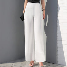 Load image into Gallery viewer, Wide Leg Long Trousers