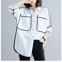 Load image into Gallery viewer, Black Outline Blouse