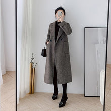 Load image into Gallery viewer, Double-Faced Cashmere Coat