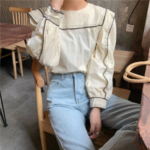 Long Sleeve Fashion Blouse