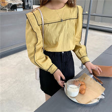 Load image into Gallery viewer, Long Sleeve Fashion Blouse