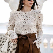 Load image into Gallery viewer, Vintage Lace Shirt