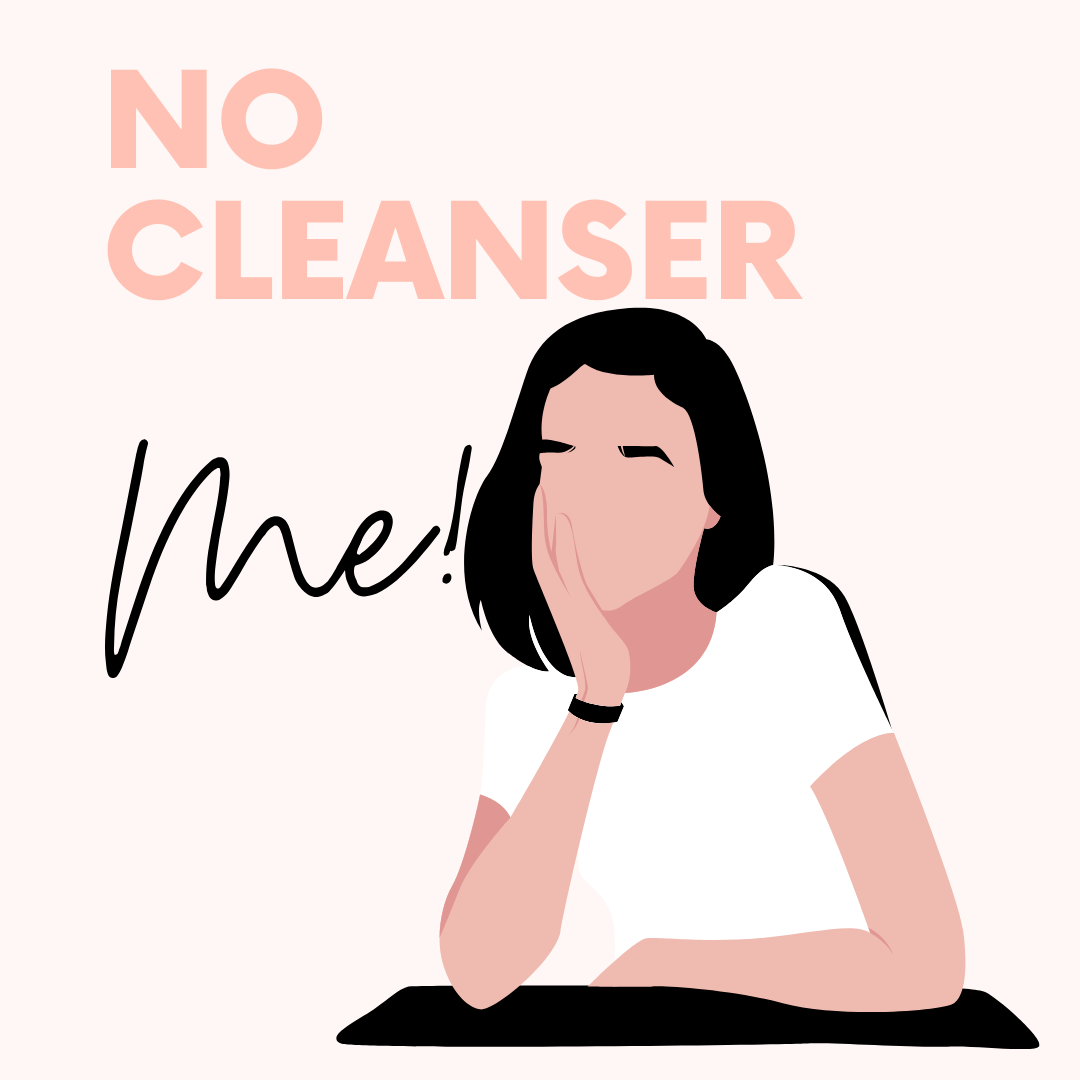 21 Days Without Cleanser