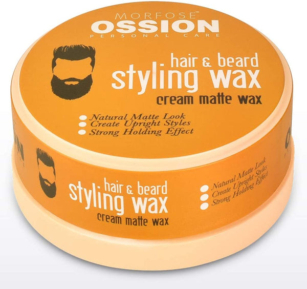 Ossion Hair and Beard Styling Wax 150 ml - Haarkeuze