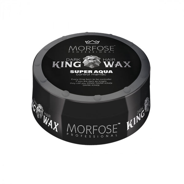 Morfose Dark King Hair Wax Super Aqua Black 175ml - Haarkeuze