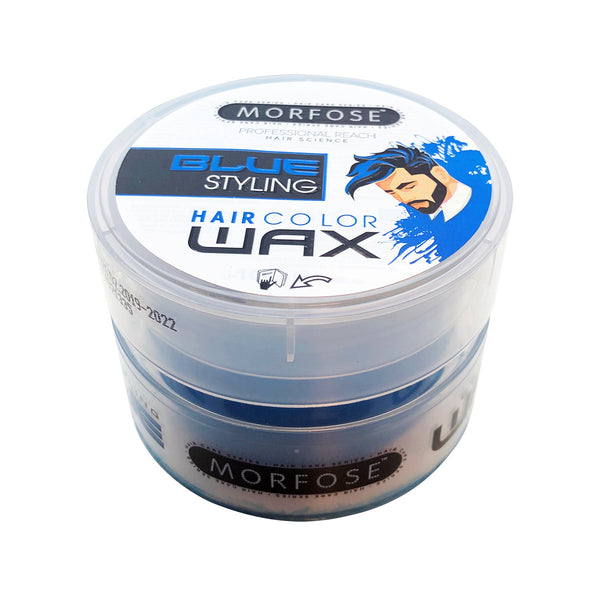 Morfose Blue Styling Hair Colour Wax Blue 100ml - Haarkeuze